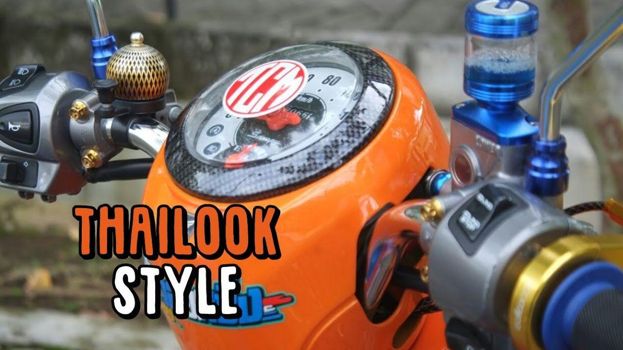 Modifikasi Motor Scoopy 2020 Simple