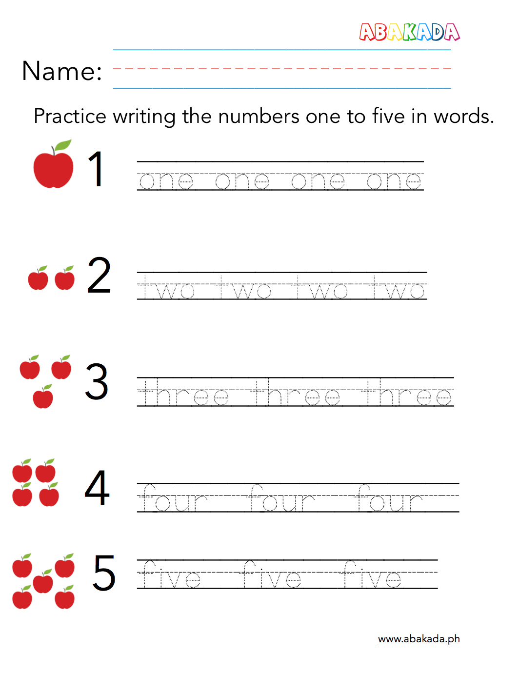 Free Preschool Worksheet Abakada