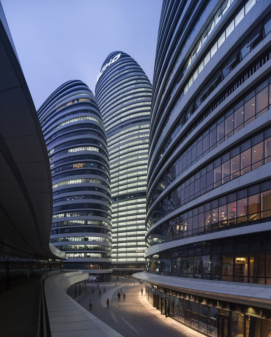 Wangjing soho architecture zaha hadid architects for Arquitectura zaha hadid