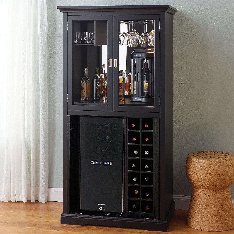 firenze wine and spirits armoire bar with 32 bottle touchscreen wine rh pinterest com