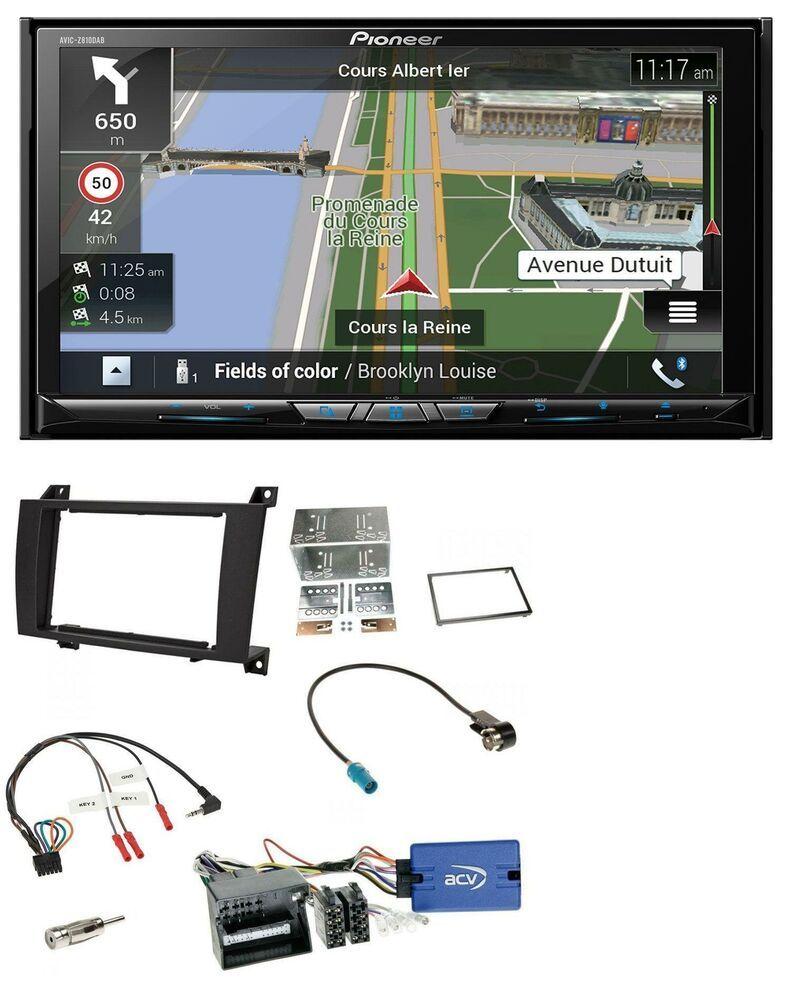 Pioneer 2din Dab Bluetooth Tmc Usb Lenkrad Navigation Für Mercedes Slk R171 2004 Gps Hifi Category