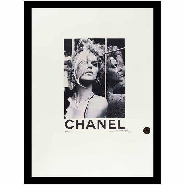 Fairchild Paris Chanel Charlize Theron Framed WallArt ($95) ❤ liked ...