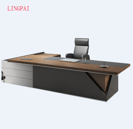 Source Modern Luxury Office Furniture Walnut Wooden Executive Ceo