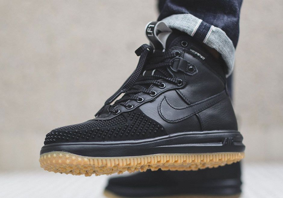 nike air force 1 black ladies boots