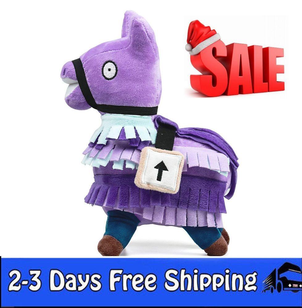 fortnite llama plush stuffed toy doll firgure troll stash christmas gift m fortnite - fortnite llama cuddly toy