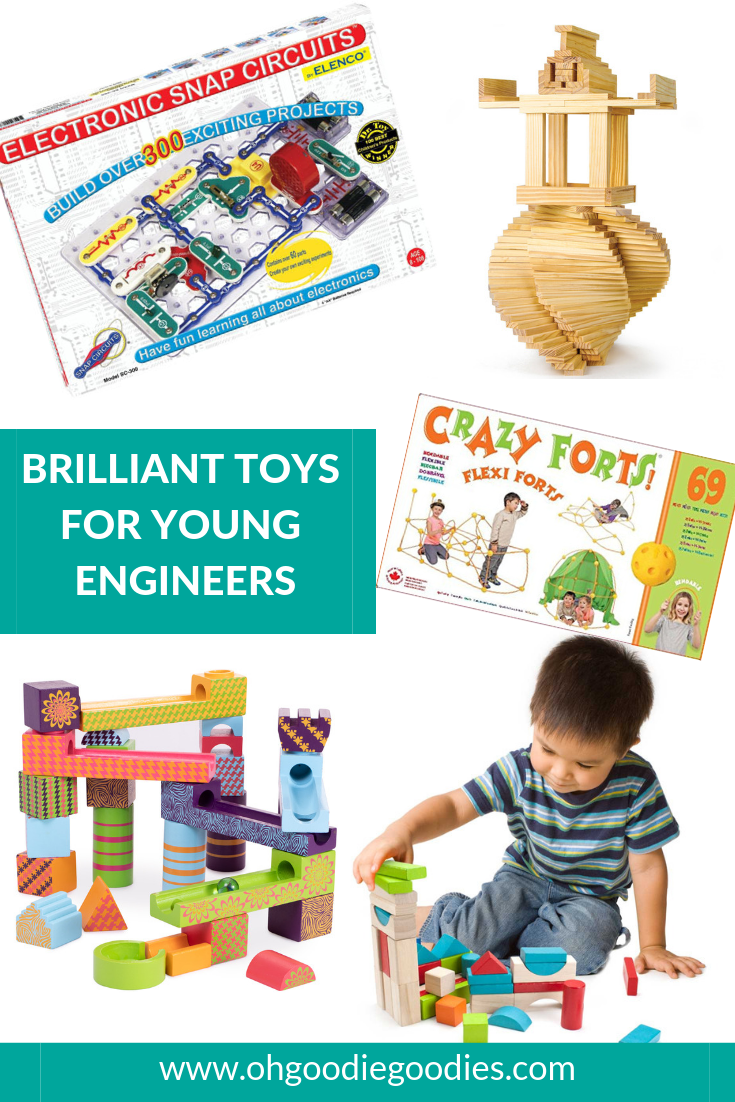 STEM Gifts For Young Engineers   Engineering toys, Young ...