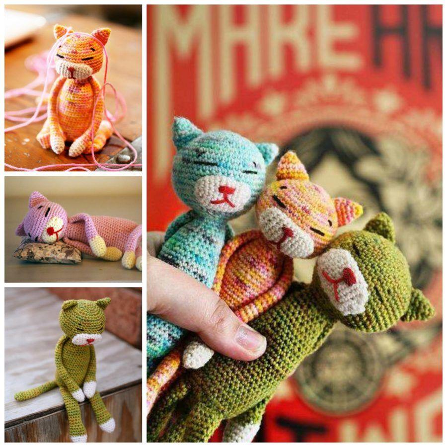 Häkeln Sie Dumpling Cat Amigurumi – Free Pattern – 20 Free Crochet ... | 900x900