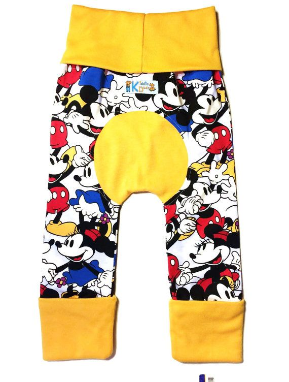 Mickey & Minnie Mouse Maxaloones Bum Pants / by KiddieDudsByTrixie ...
