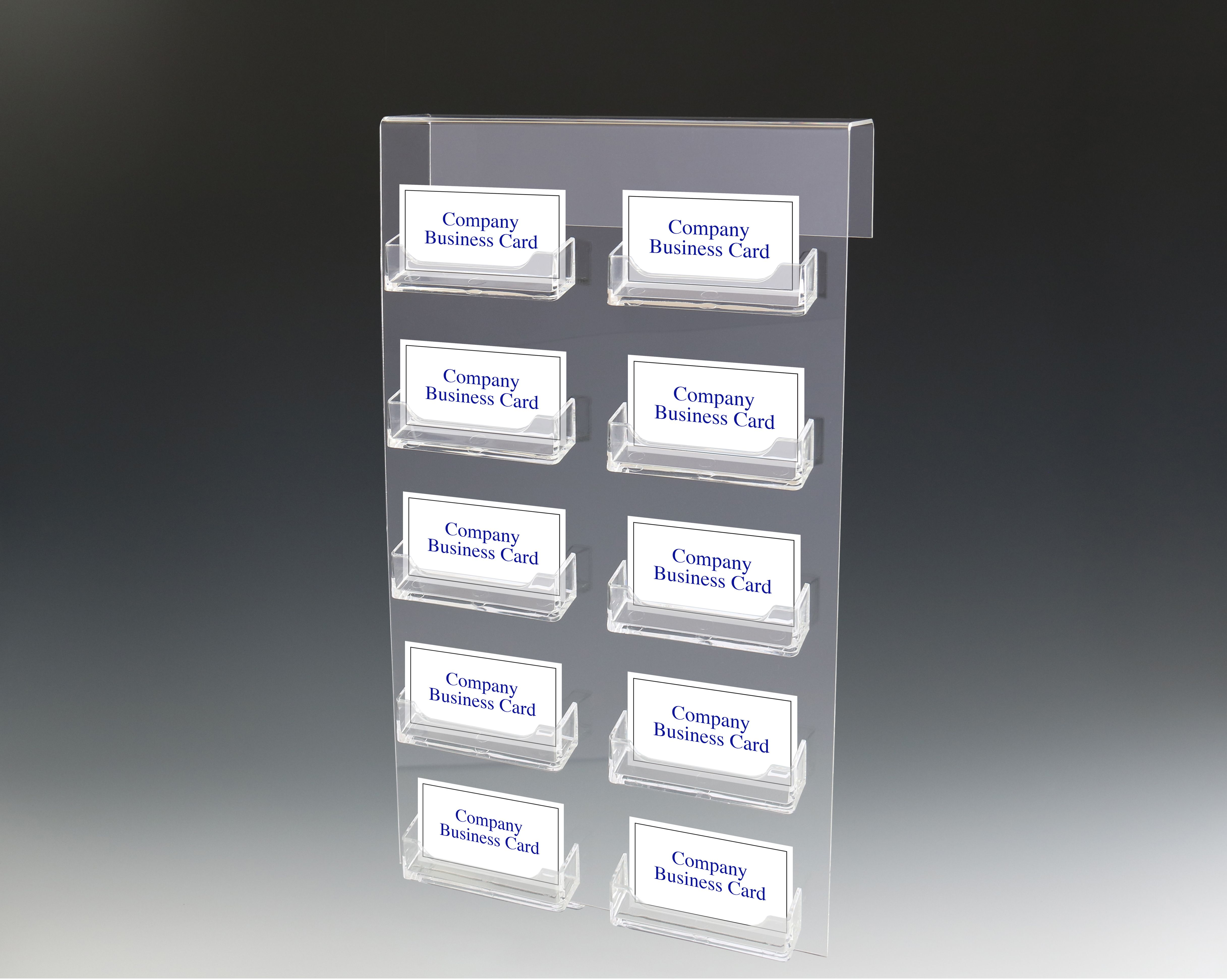 Cubicle Business Card Holder Acrylic Business Card Holder Business Card Holders Sign Holder Gift Card Holder
