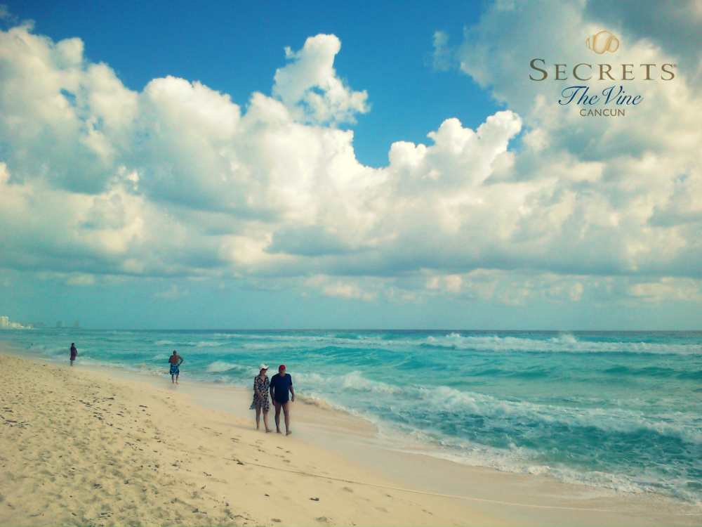 cancun has the best beach for tanning playing walking and relaxing rh pinterest es
