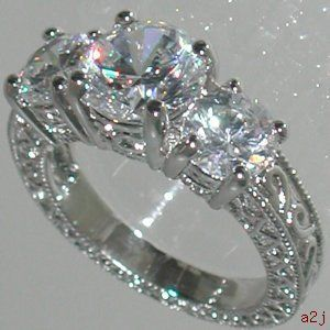Vintage style 15ct past present future ring size 6 to new past present and future rings engagement rings vintage style 15ct past present future ring size 6 aloadofball Gallery