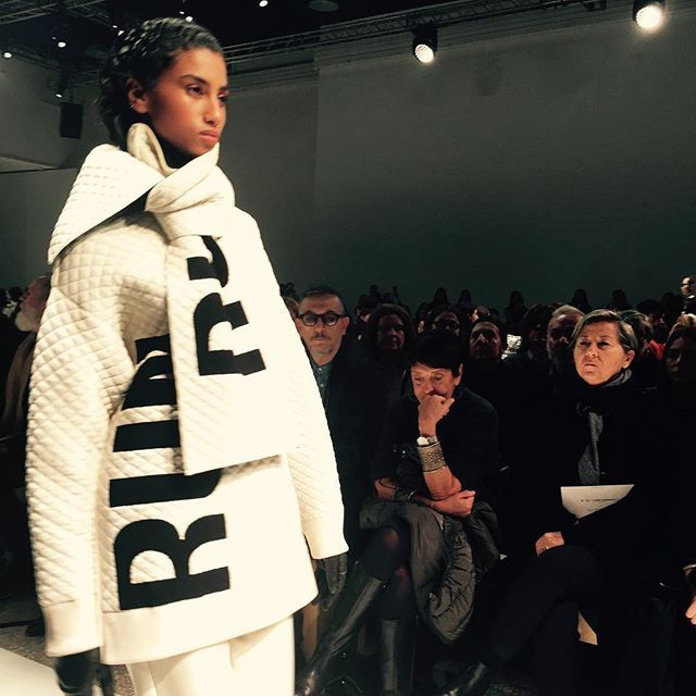 Can you read it ? #sportmax #readysteadyrunway #mfw2017 #fashion_annagrams #silviabinggeli  via ANNABELLE MAGAZINE OFFICIAL INSTAGRAM -Celebrity  Fashion  Haute Couture  Advertising  Culture  Beauty  Editorial Photography  Magazine Covers  Supermodels  Runway Models