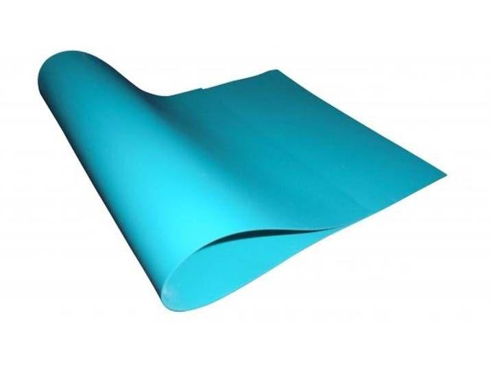 PVC Teichfolie blue (türkisblau) in einer Stärke von 1.00 mm, Maß: 12