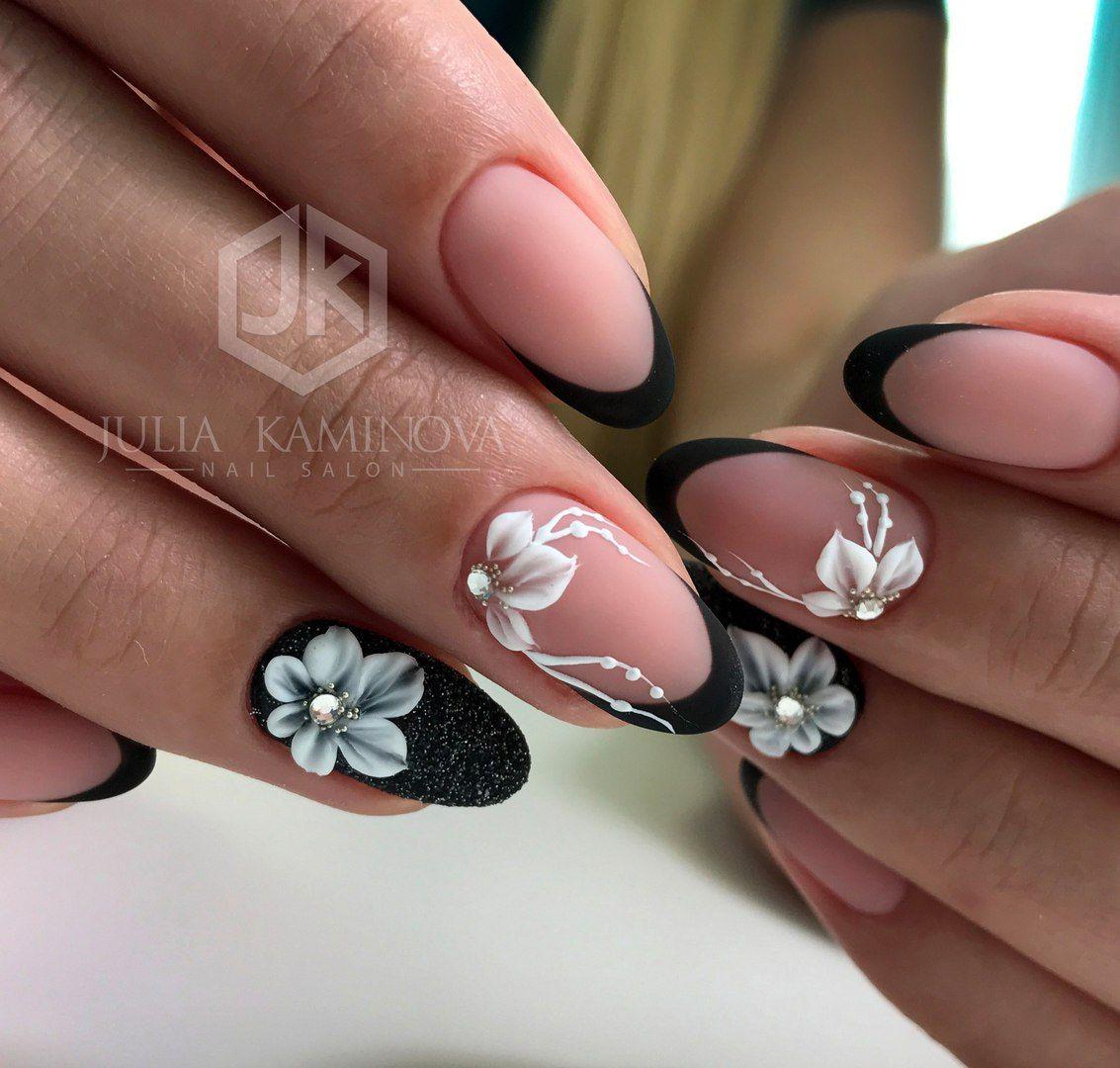 Fiori Unghie.Unghie E Fiori 3d Nails Flower Nails Stiletto Nails Designs