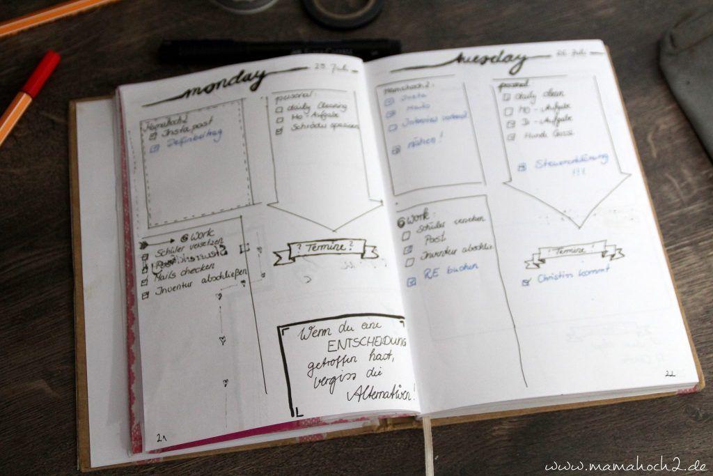 mein diy terminplaner bullet journal bullet journal ideen pinterest bullet journal. Black Bedroom Furniture Sets. Home Design Ideas
