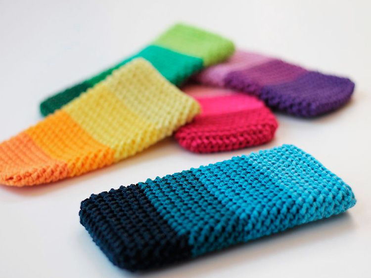 Diy Tutorial Crochet An Easy Phone Cover Via Dawandacom Nähen