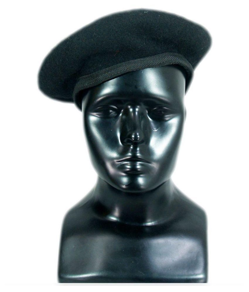 New Cool Black Mix Wool Military Special Force Army French Artist Hat Cap  Beret  Unbranded  ArmyCap f39813ff90b
