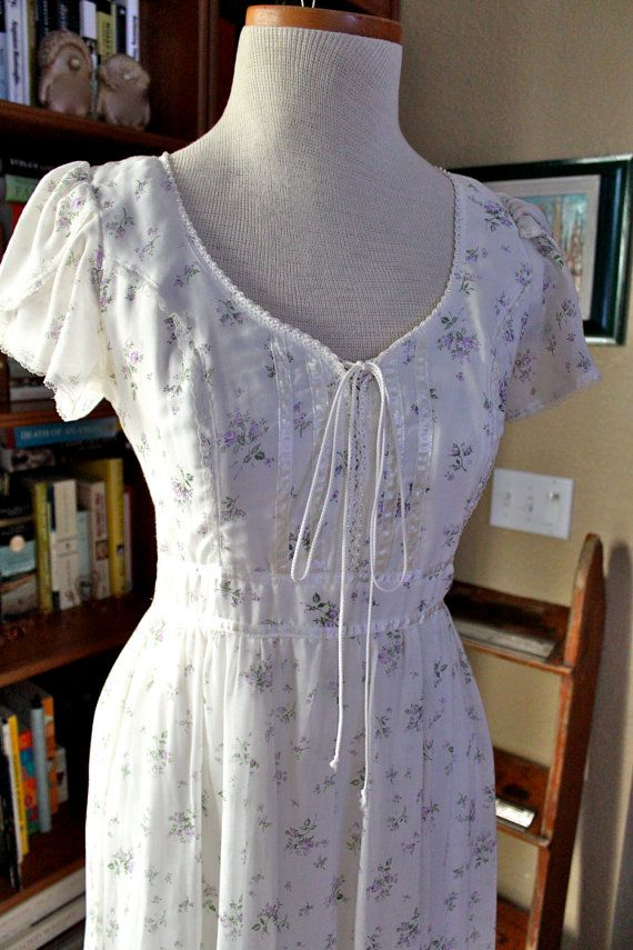 vintage 70s GUNNE SAX of San Francisco wench dress by RedTuTuRetro ...