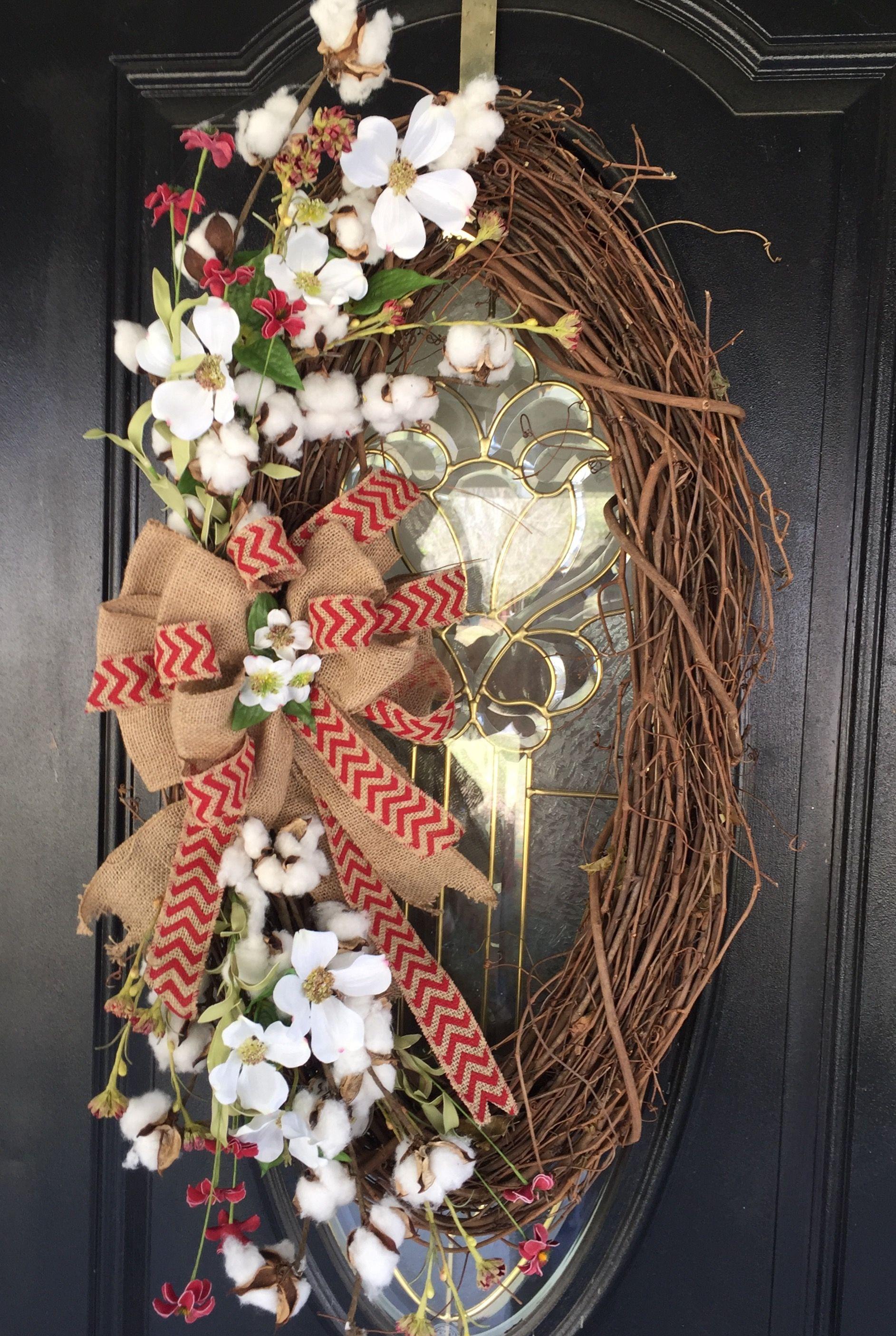 Love my front door wreath. (With images) | Wreaths ...