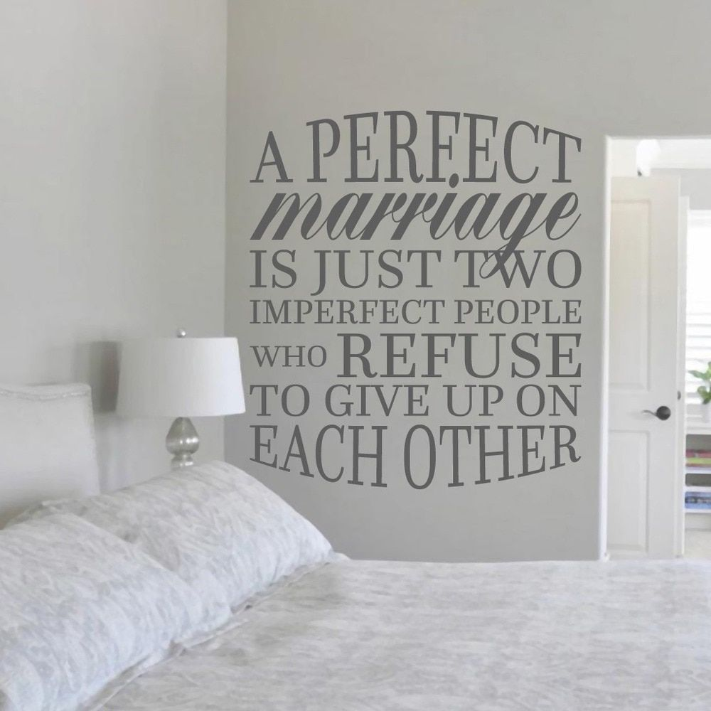 A Perfect Marriage Is Just Two Imperfect