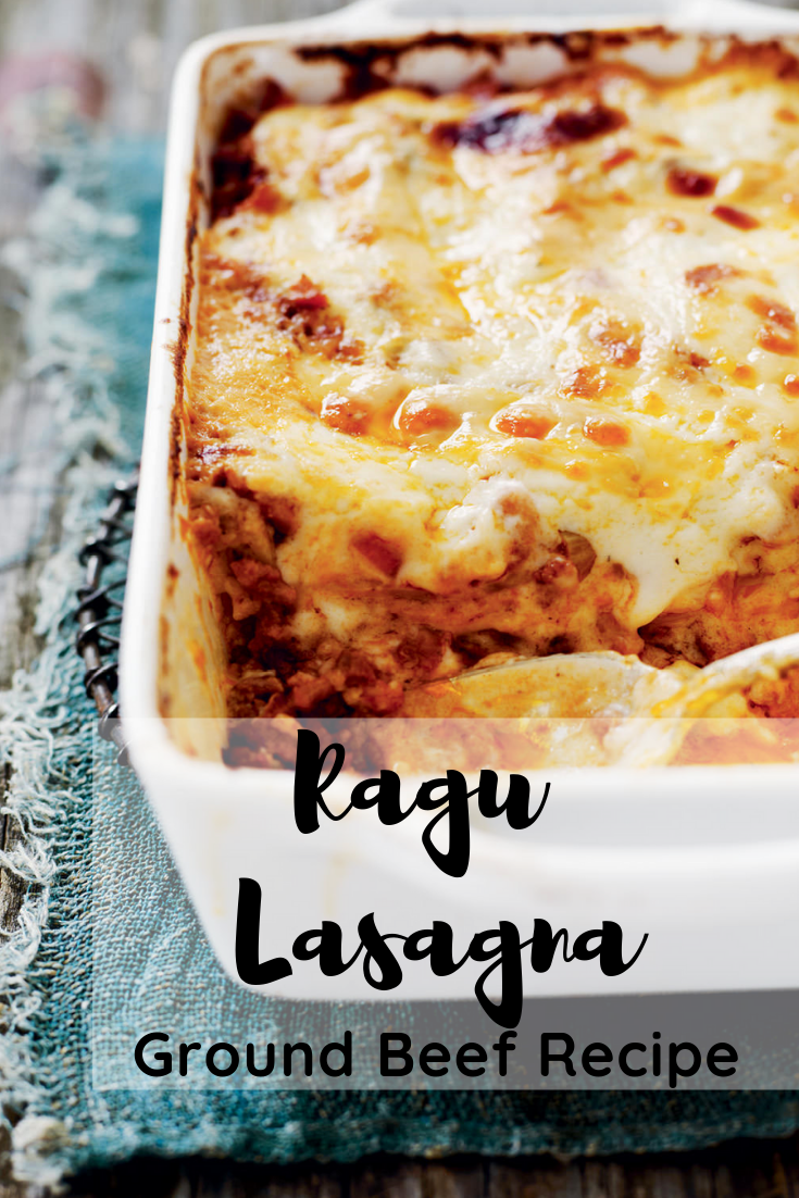 Ragu Lasagna Ground Beef Recipe Chicken Recipes Ragu