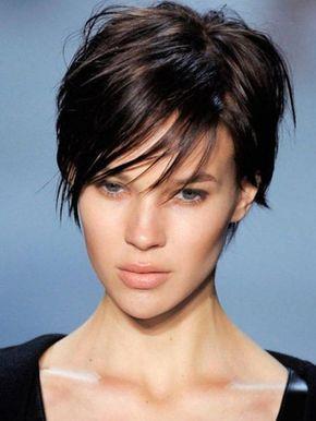 Modele de coiffure courte au carre