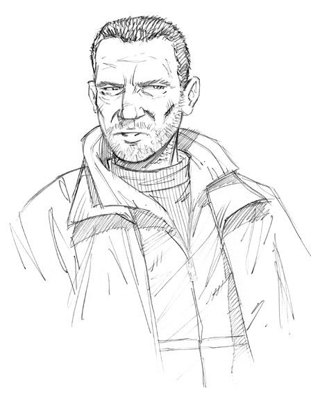 Gta Iv Niko Bellic Doodle By Residentlilly The Art Of