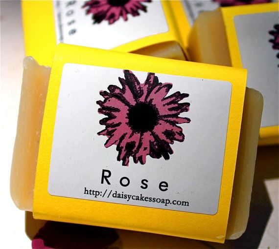 NEW Rose Soap with Olive Oil and Lanolin by daisycakessoap on Etsy, 4.00usd