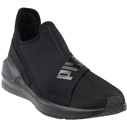 PUMA Women's Fierce Slip On Wn Sneaker, Black, 8.5 M US