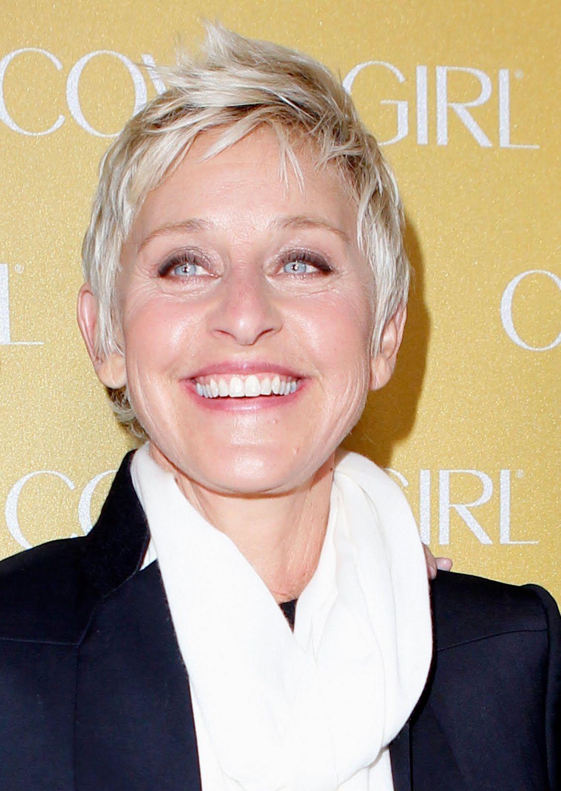 Ellen Degeneres Makeup - Emo Makeup