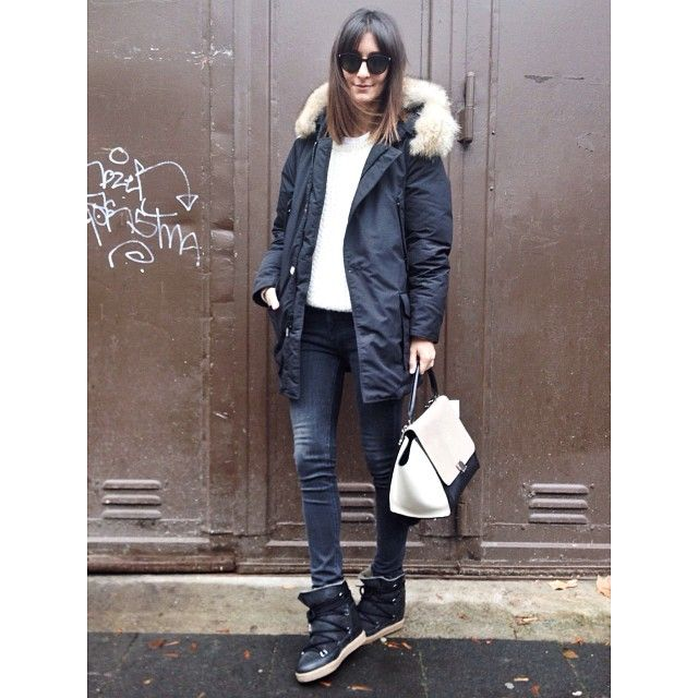 Instagram Photo By Golestaneh Golestaneh Via Iconosquare Woolrich Parka Winter Fashion Parka Outfit