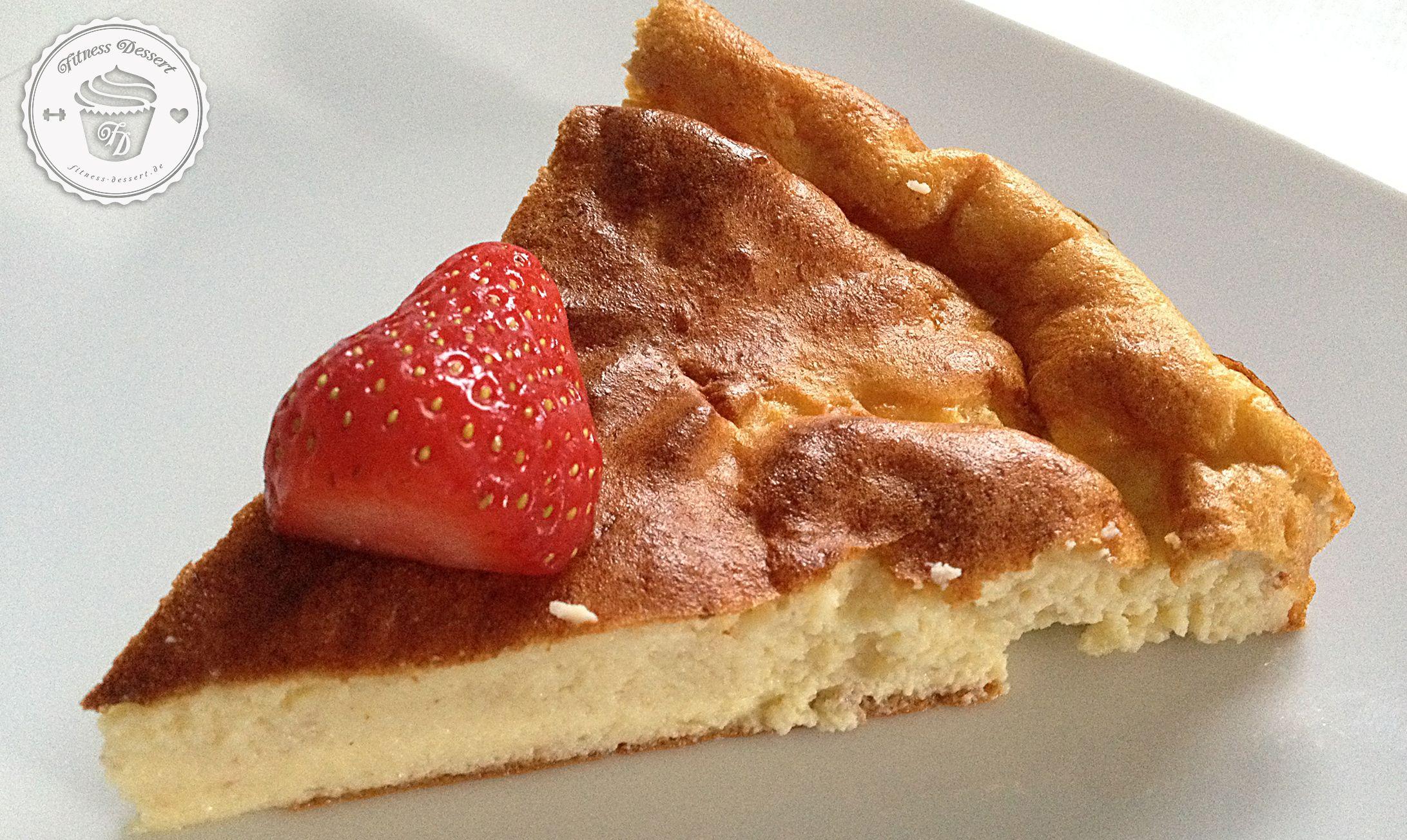 Banana – Cheesecake | FITNESS-DESSERT.DE