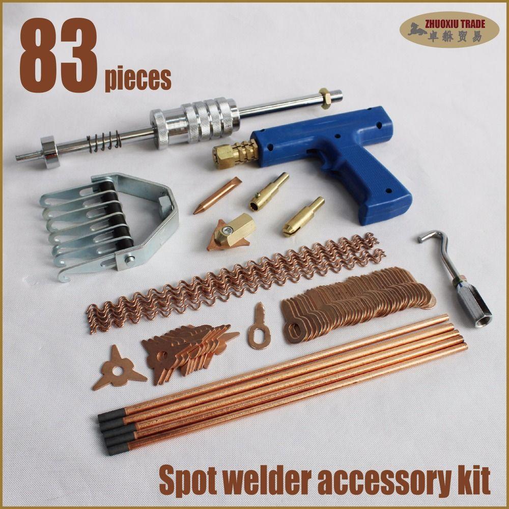 Vergleichen Preis Spotter weld schweißpunkt stud schweißer tool kit ...