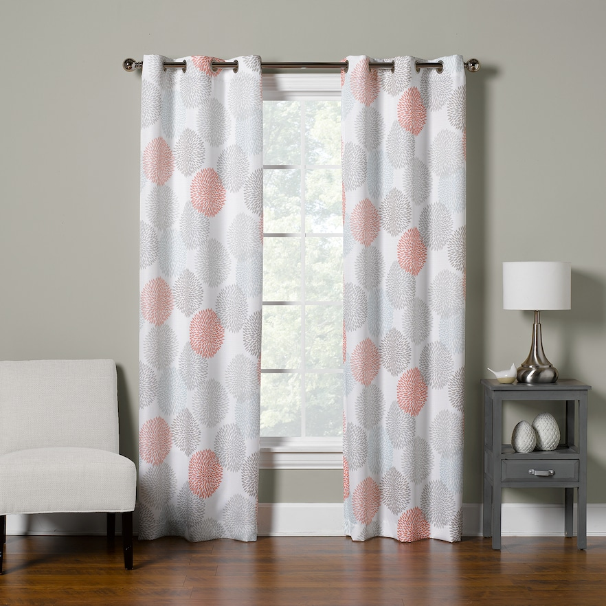 the big one 2 pack floral decorative window curtains products rh pinterest com