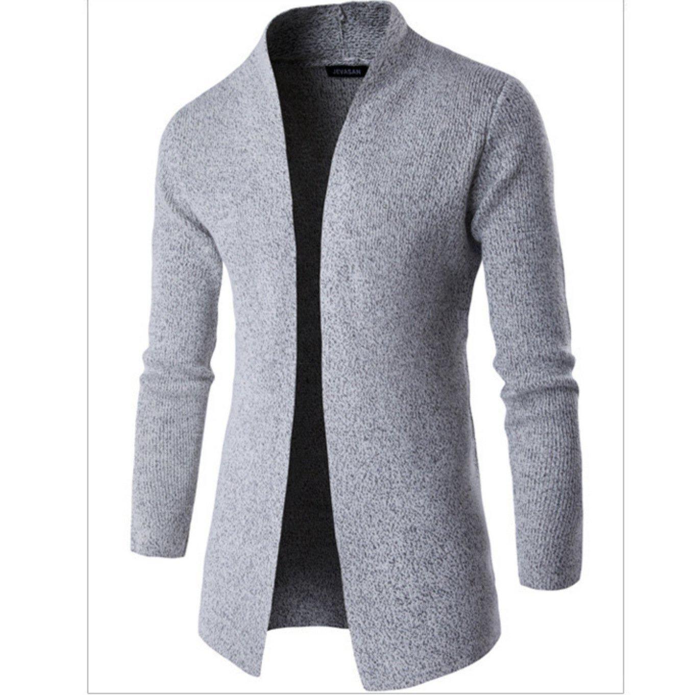 Fashion winter plain knit sweater coat in 2021 knitwear