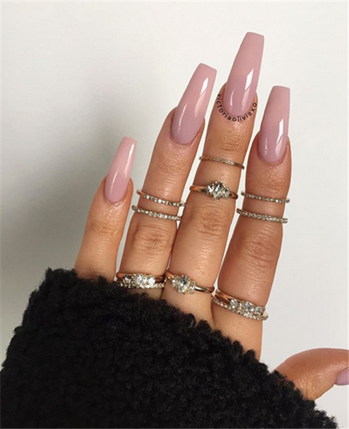 40 Simple Acrylic Coffin Nails Designs Ideas For Your 2019 Nail Art Connect Coffin Nails Designs Nail Designs Beautiful Nail Designs