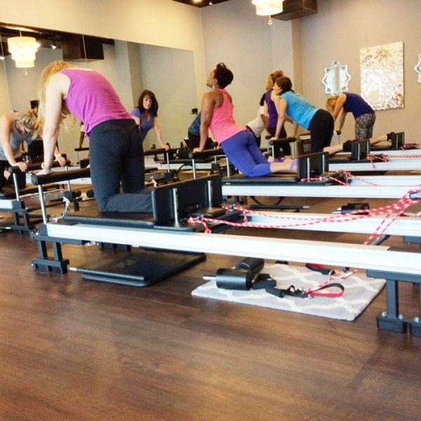 A Scoop newbie and Scoop oldie hit the reformers at IM=X Pilates in Arboretum area. : Best Blog Charlotte NC
