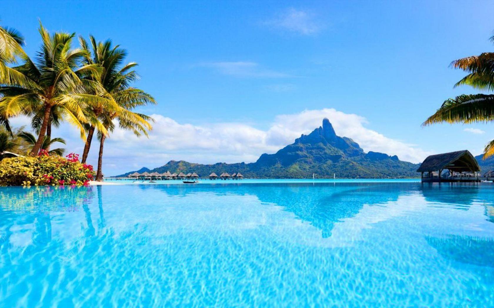 Bora Bora 107891 High Quality And Resolution Wallpapers Bora Bora Island Romantic Vacations Vacation