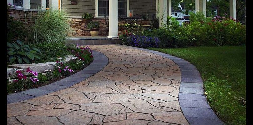 Great Get A Natural Flagstone Look And Easy Installation With Belgard Arbel  Pavers. Our Mega Arbel Pavers Are Available In A Number Of Hues.