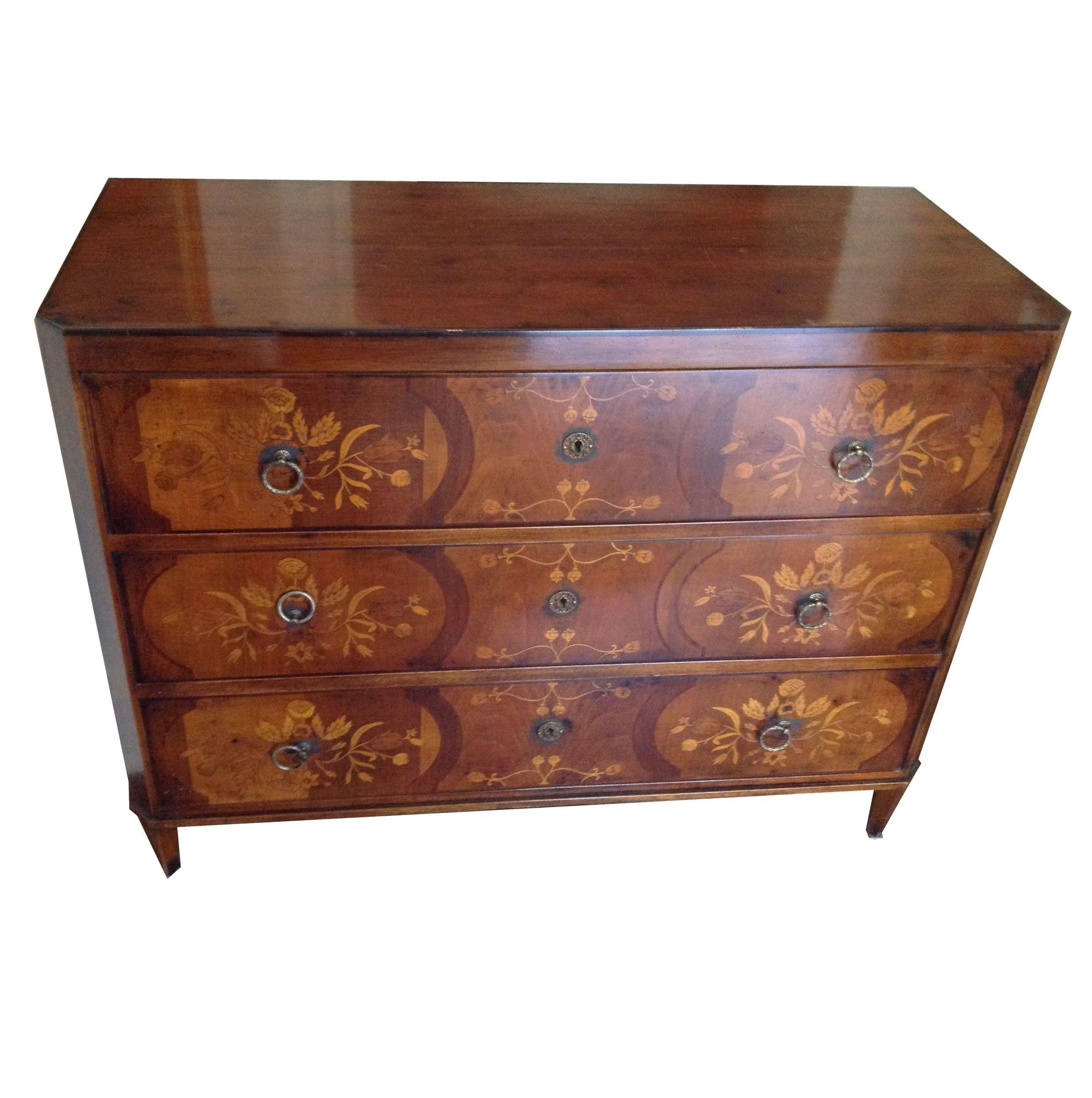 Neoclassic Style Italian Chest on Chairish.com