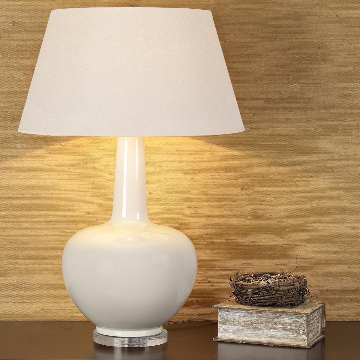 Bottleneck Ceramic Table Lamp - 3 Colors