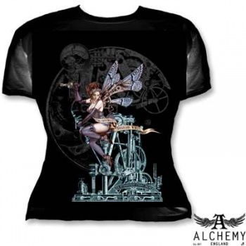 Alchemy Gothic T-Shirt For Fairy Queen and Country - BTS489