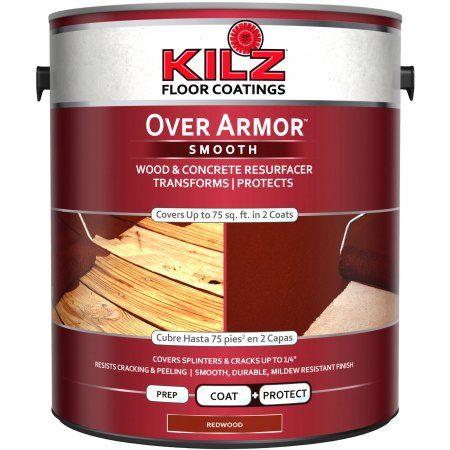 KILZ Over Armor Wood Concrete Coating 1 gallon