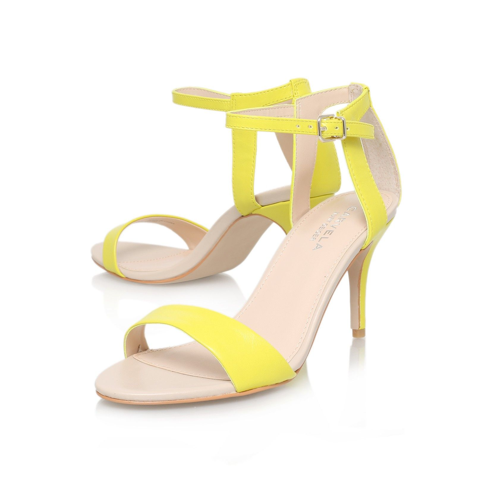 Carvela, Kurt geiger and Yellow shoes on Pinterest