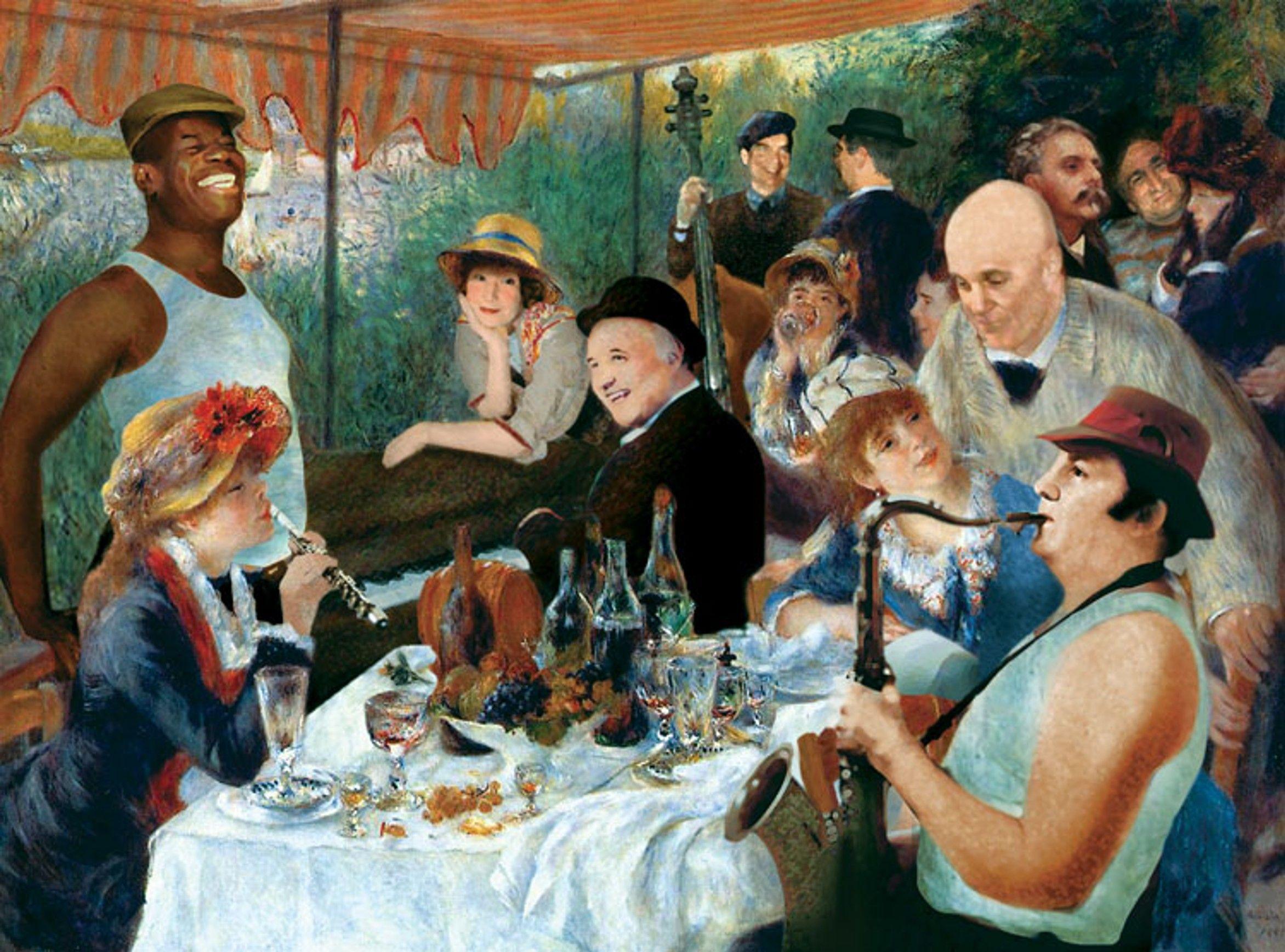 Jazz Renoir (691K) | tableau | Peintures renoir, Renoir et Pierre auguste renoir