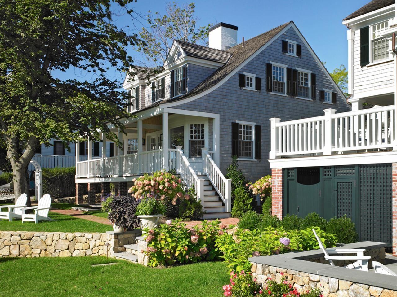 architect patrick ahearn s cottage garden cape cod exterior hgtv rh pinterest com