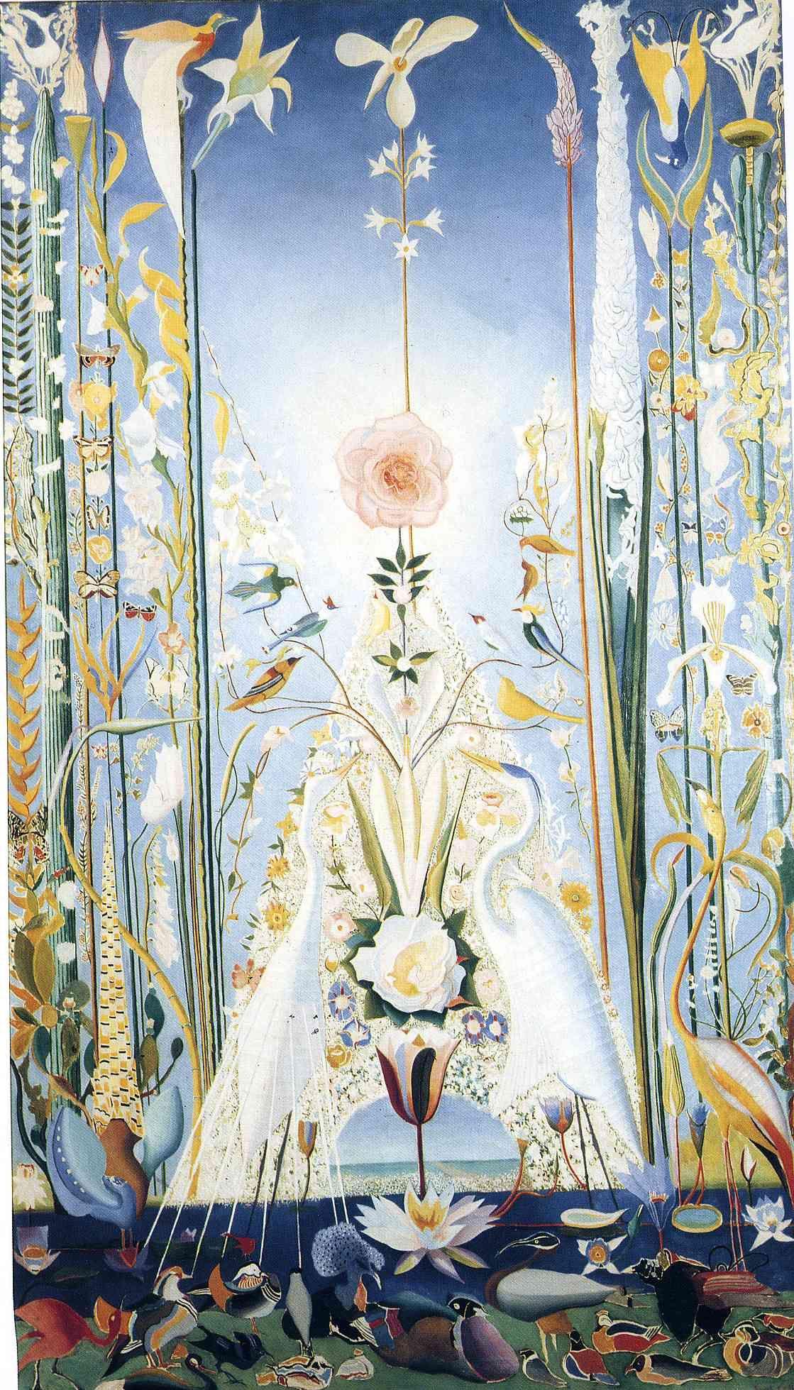 Apotheosis of the Rose, Joseph Stella   Art -   Pinterest