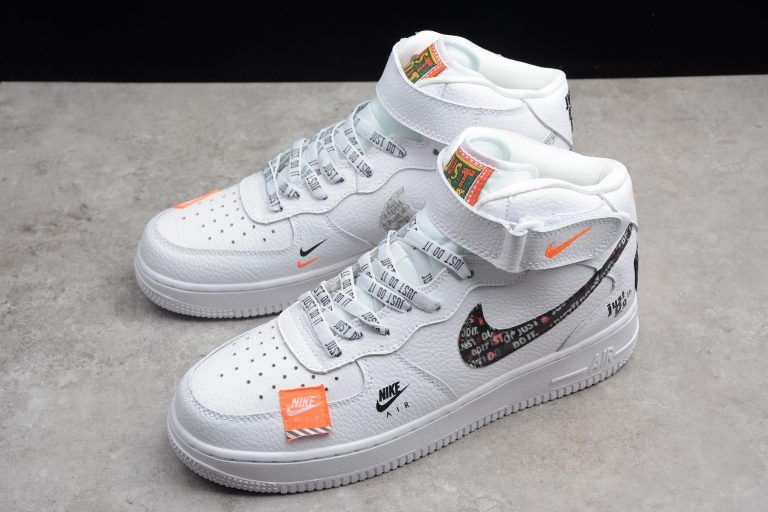 New Nike Air Force 1 Mid Just Do It Pack White For Sale