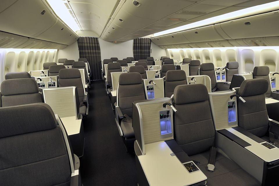 air canada exectutive first cabin cabins aircraft interiors rh pinterest com