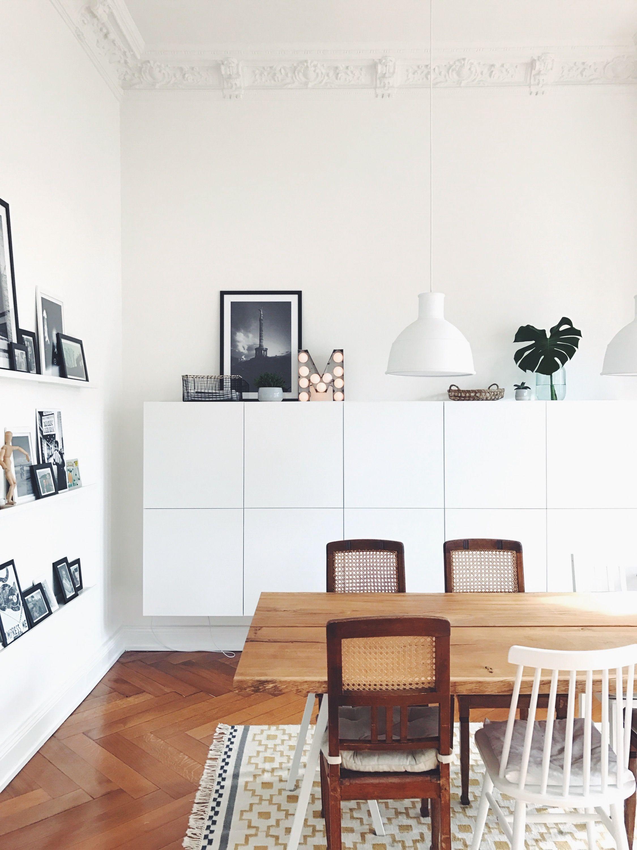Hereinspaziert! 10 neue Wohnungseinblicke | Dining area, Clutter and ...